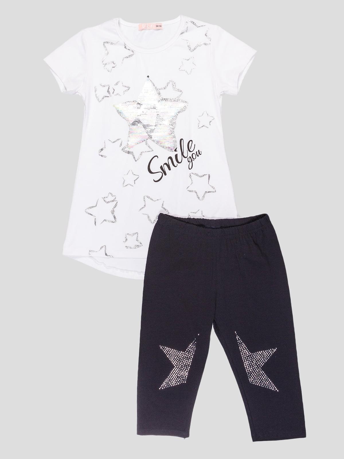 Комплект: футболка та легінси | 5096564