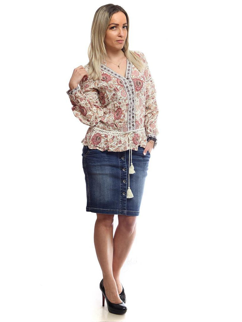 Блуза в принт | 4975675