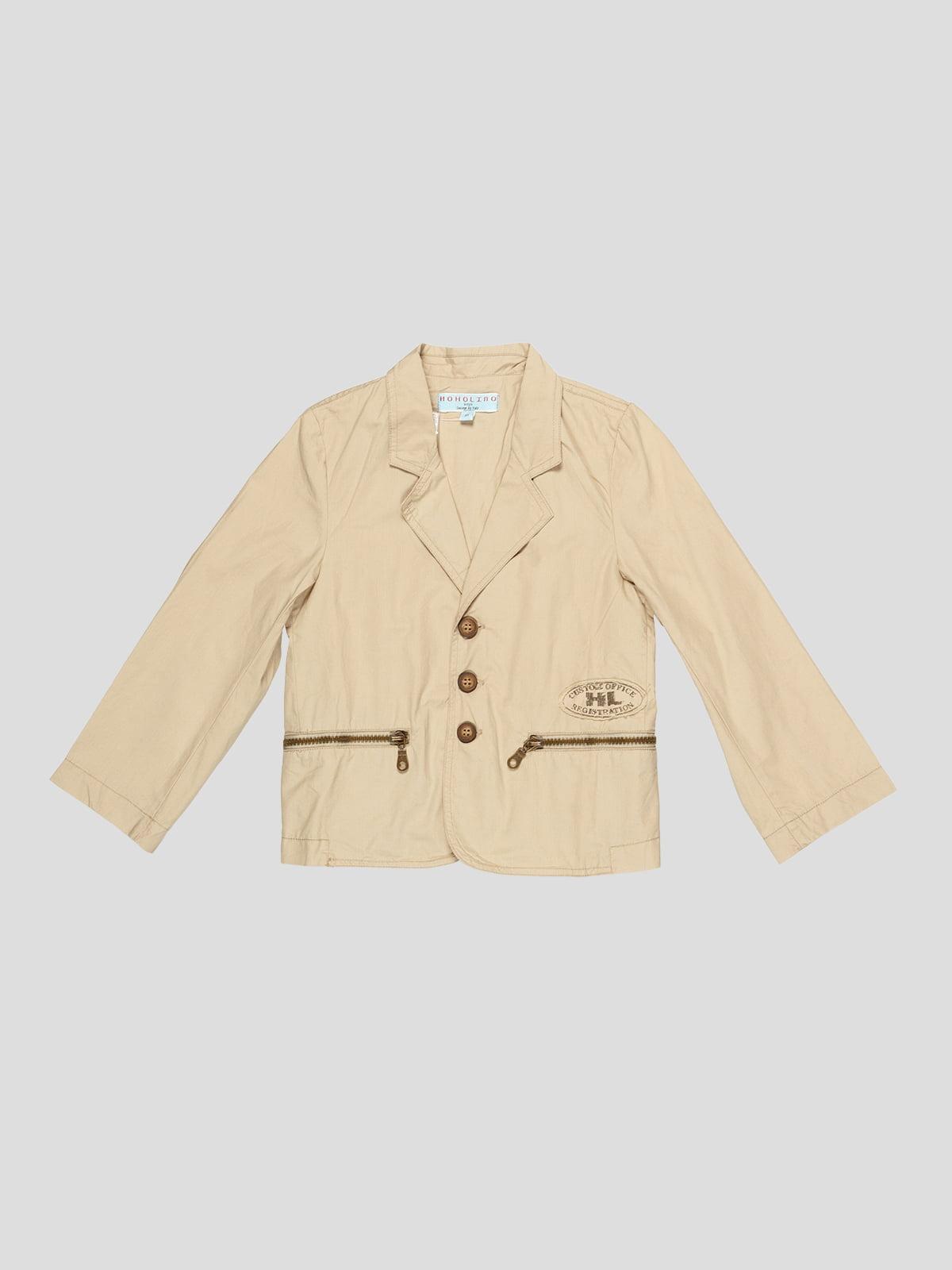 Пиджак оливкового цвета | 4238160