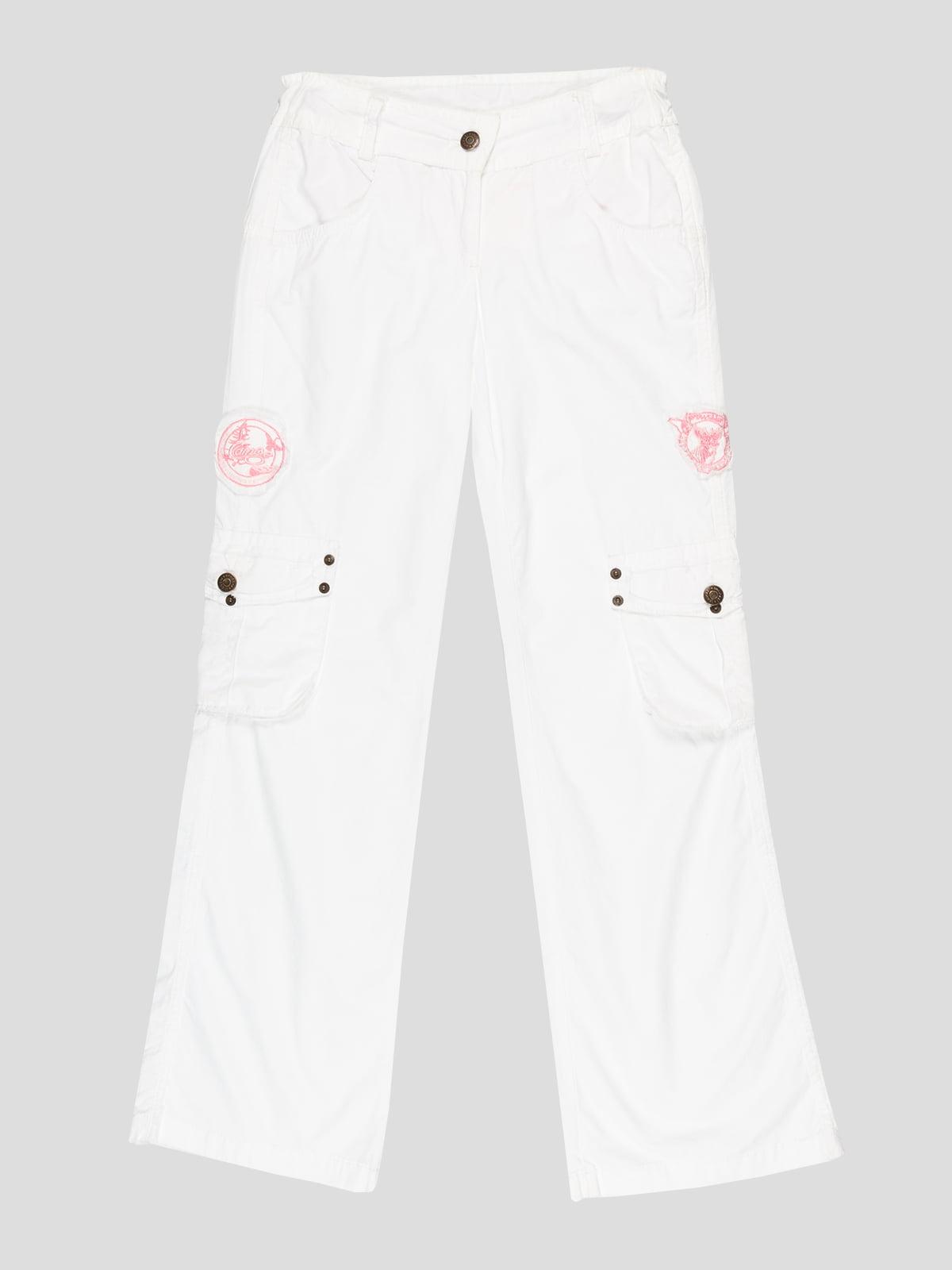 Штани білі | 2056893