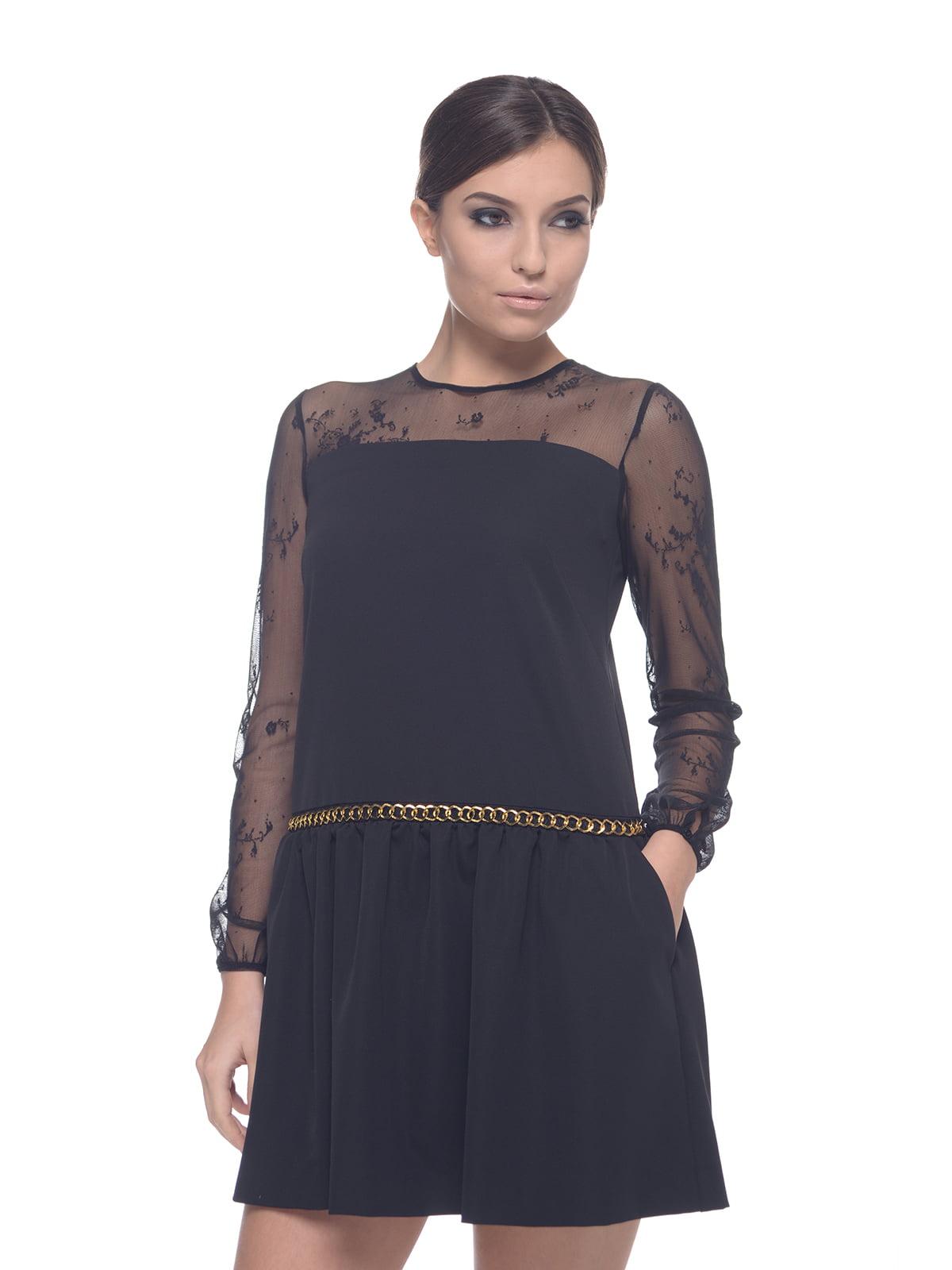 Платье черное | 4628058