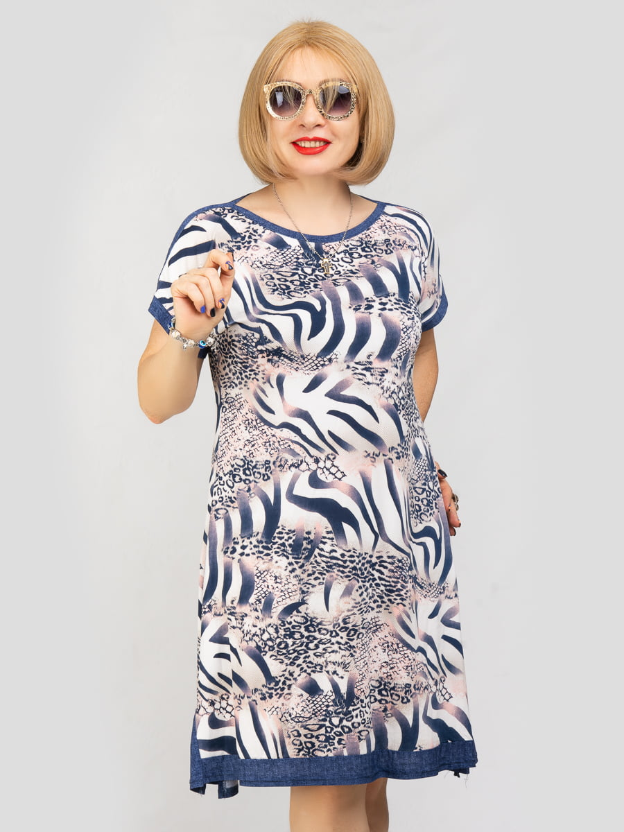 Платье в цветочный принт | 5111317