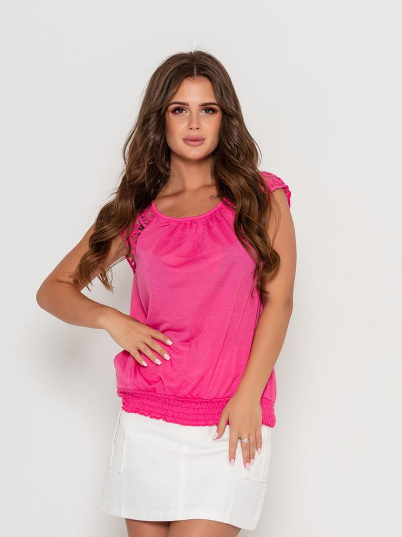 Блуза малиновая | 5103075
