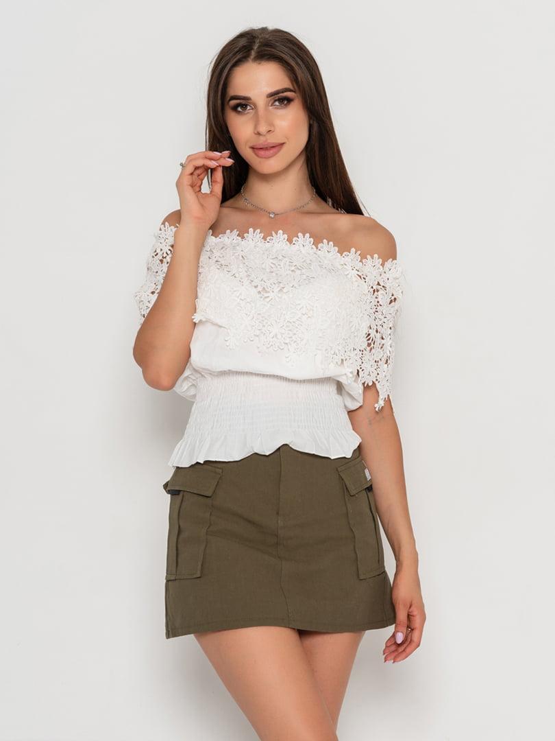 Блуза біла | 5111447