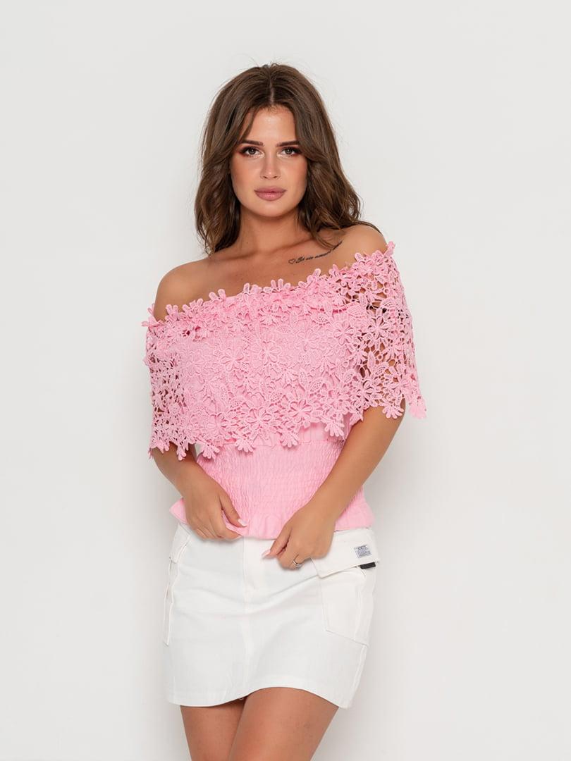 Блуза розовая   5111448