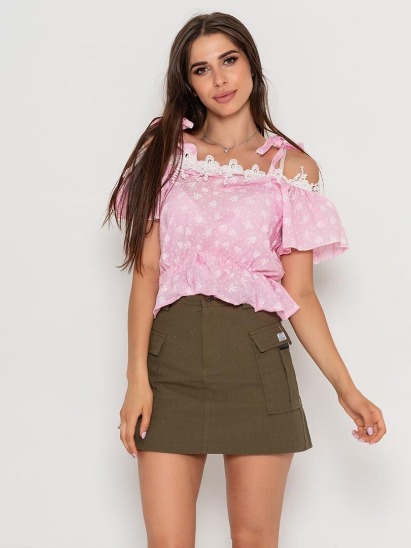 Блуза рожева | 5111451