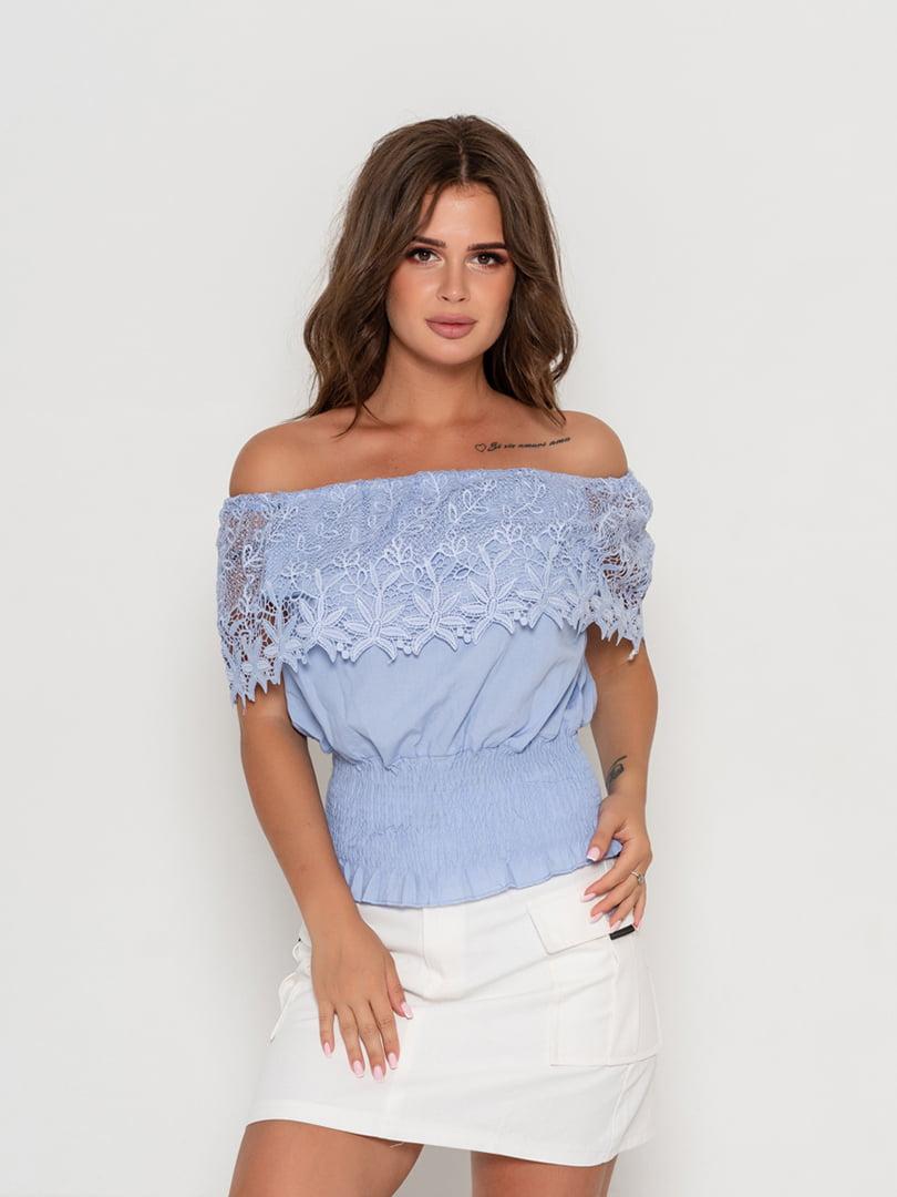 Блуза бузкова | 5111456