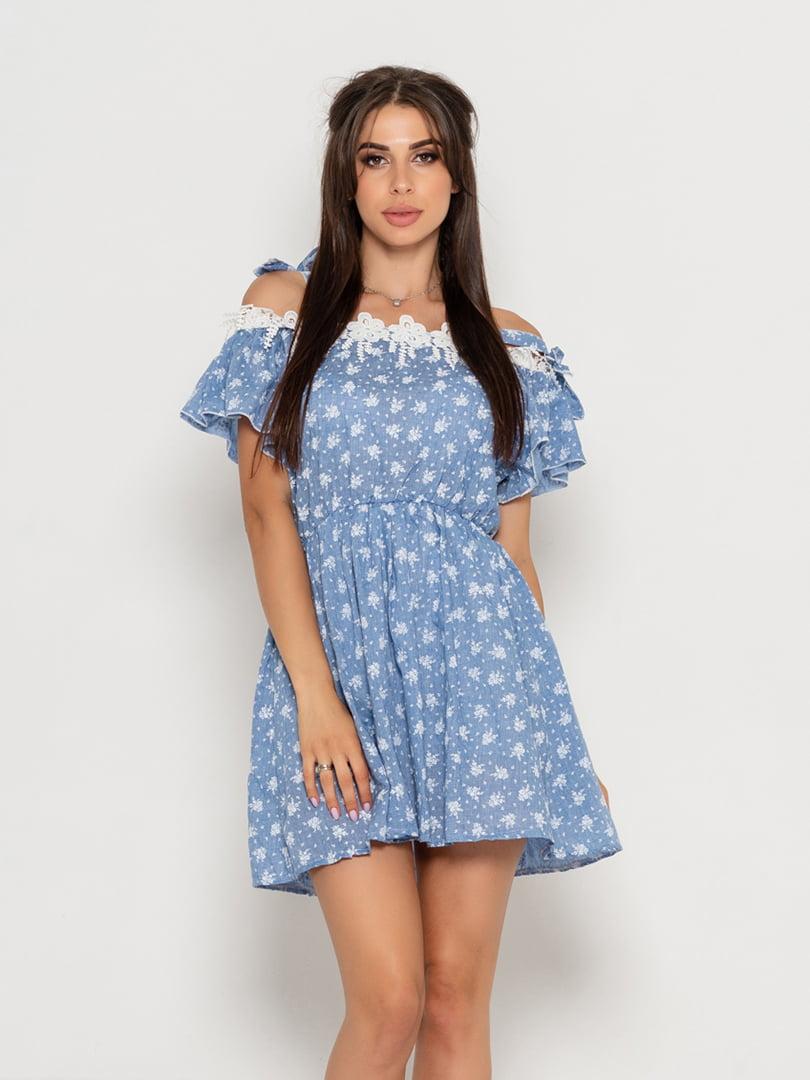 Сукня синя | 5111492