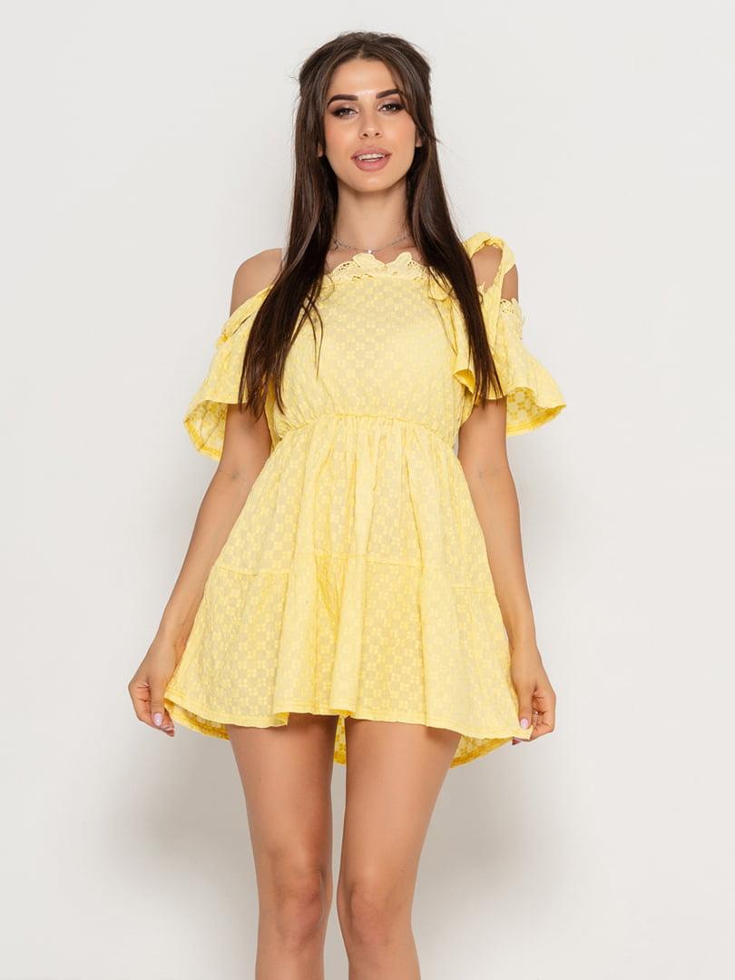 Платье желтое | 5111495