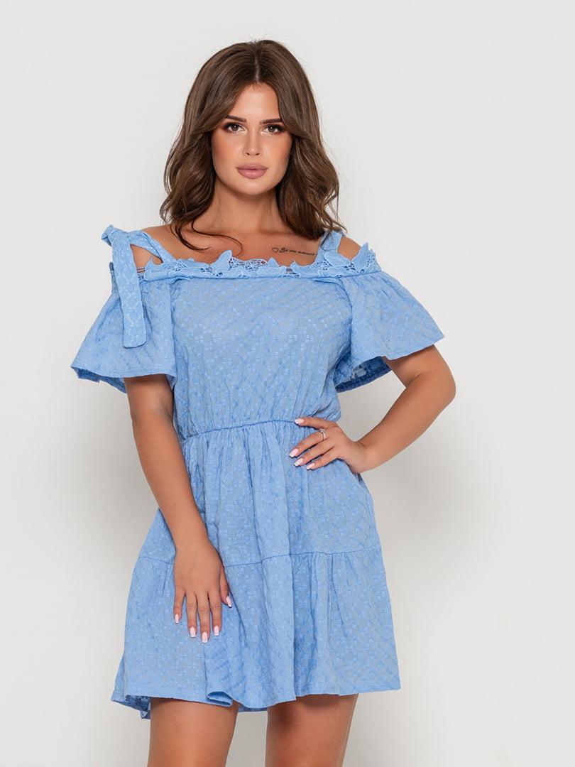 Сукня блакитна | 5111496