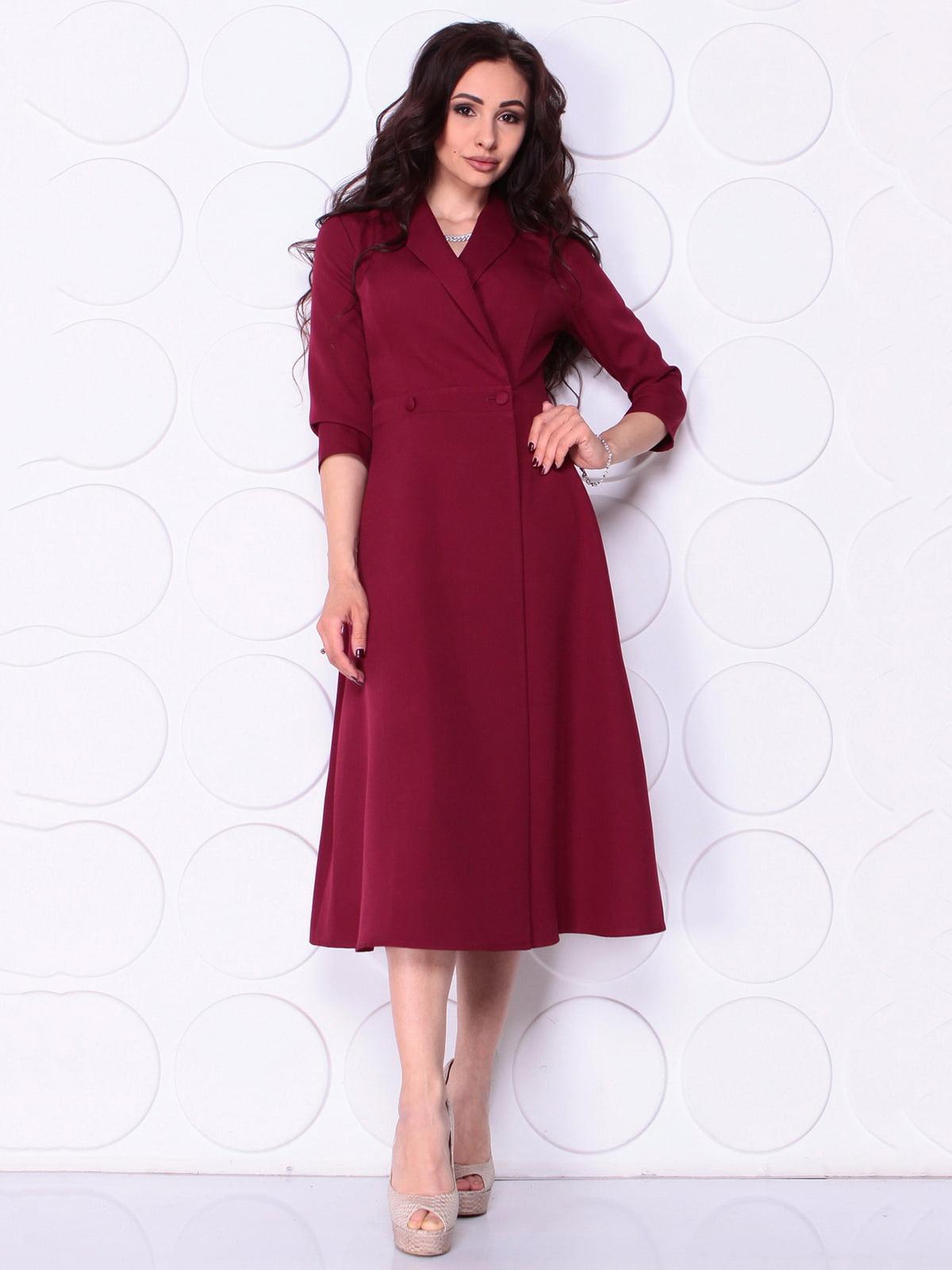 Сукня сливового кольору | 5111633
