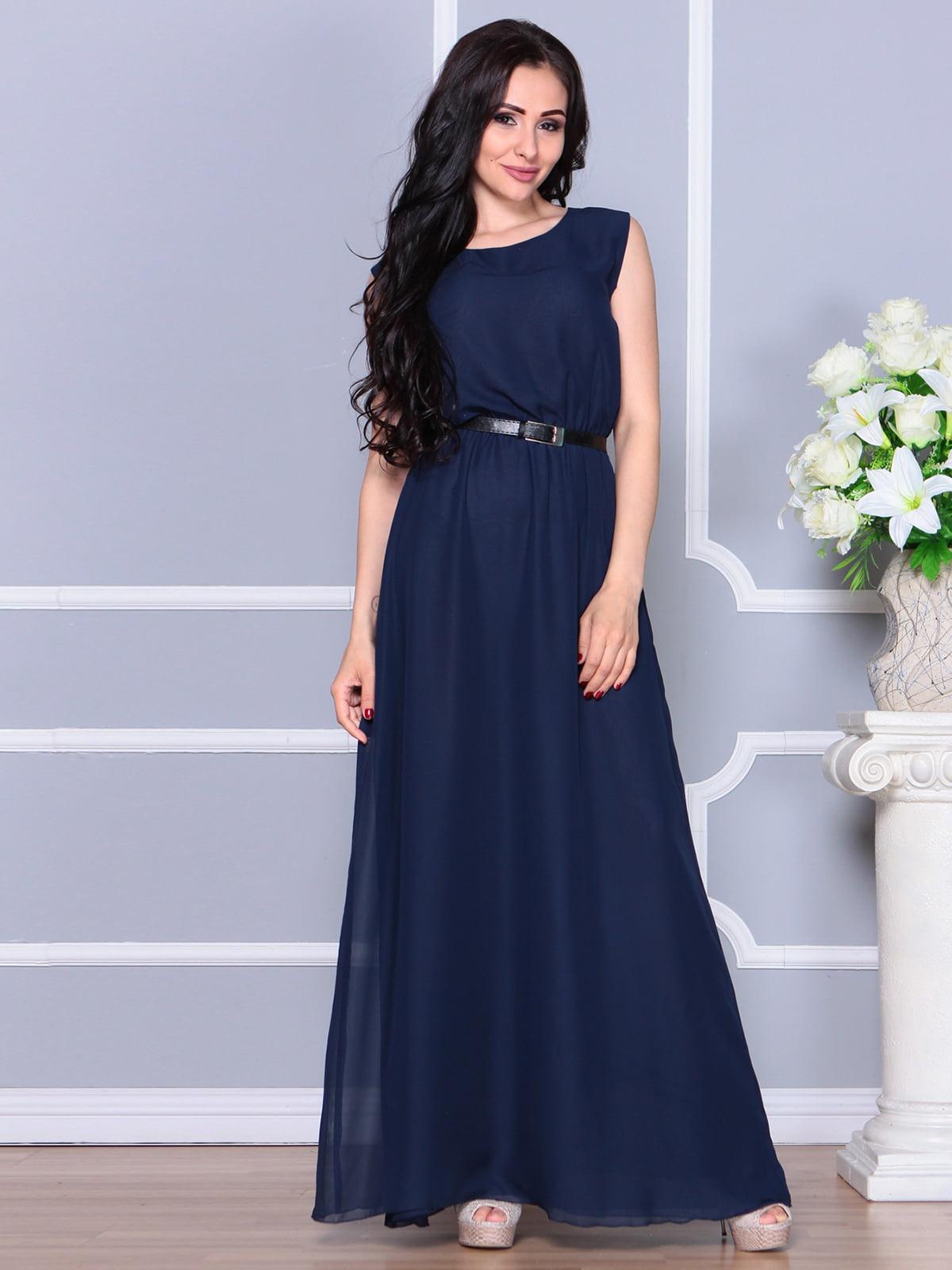 Сукня темно-синя | 5111677