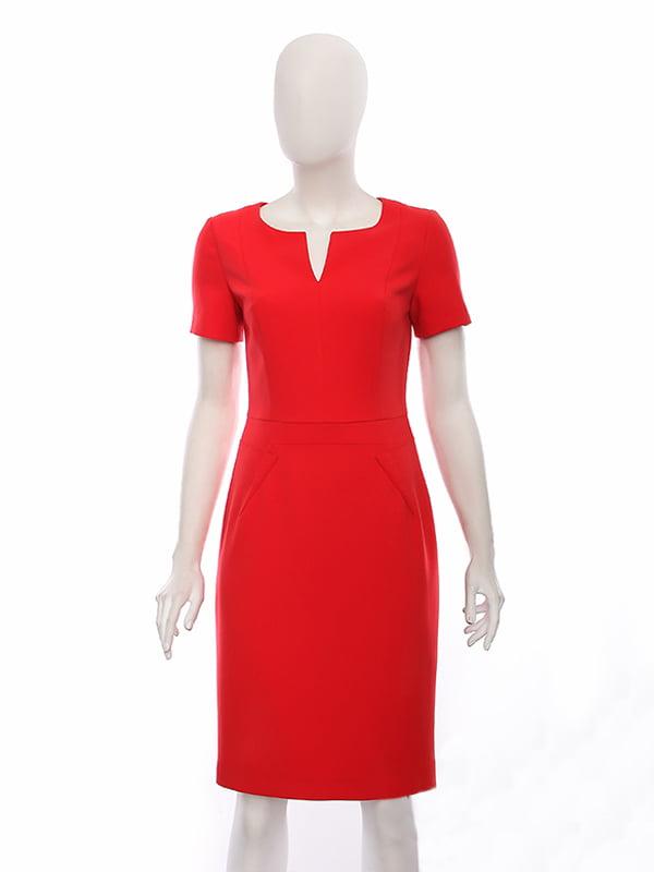 Платье красное | 4950004