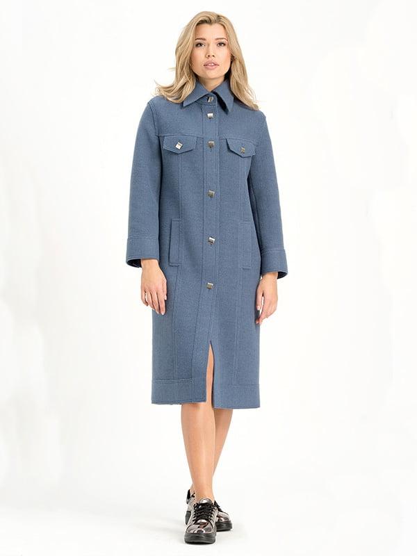 Пальто голубое | 4973641