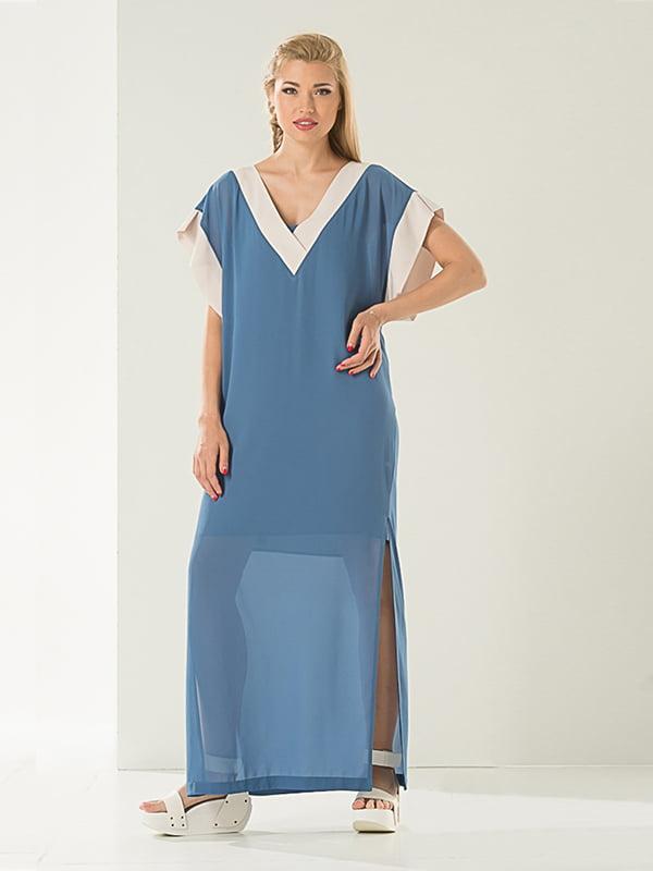 Платье голубое | 4973678