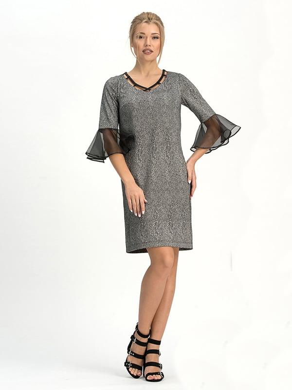 Сукня сіра | 4973710