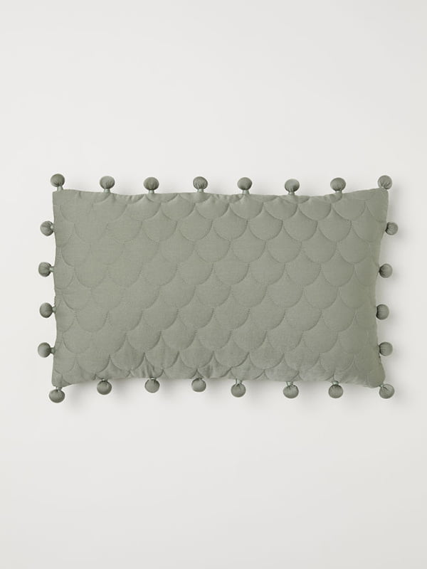 Чехол на подушку зеленый | 5107584
