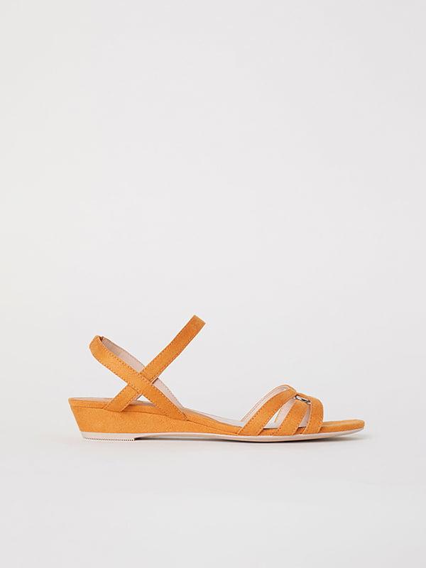 Босоножки оранжевые   5107616