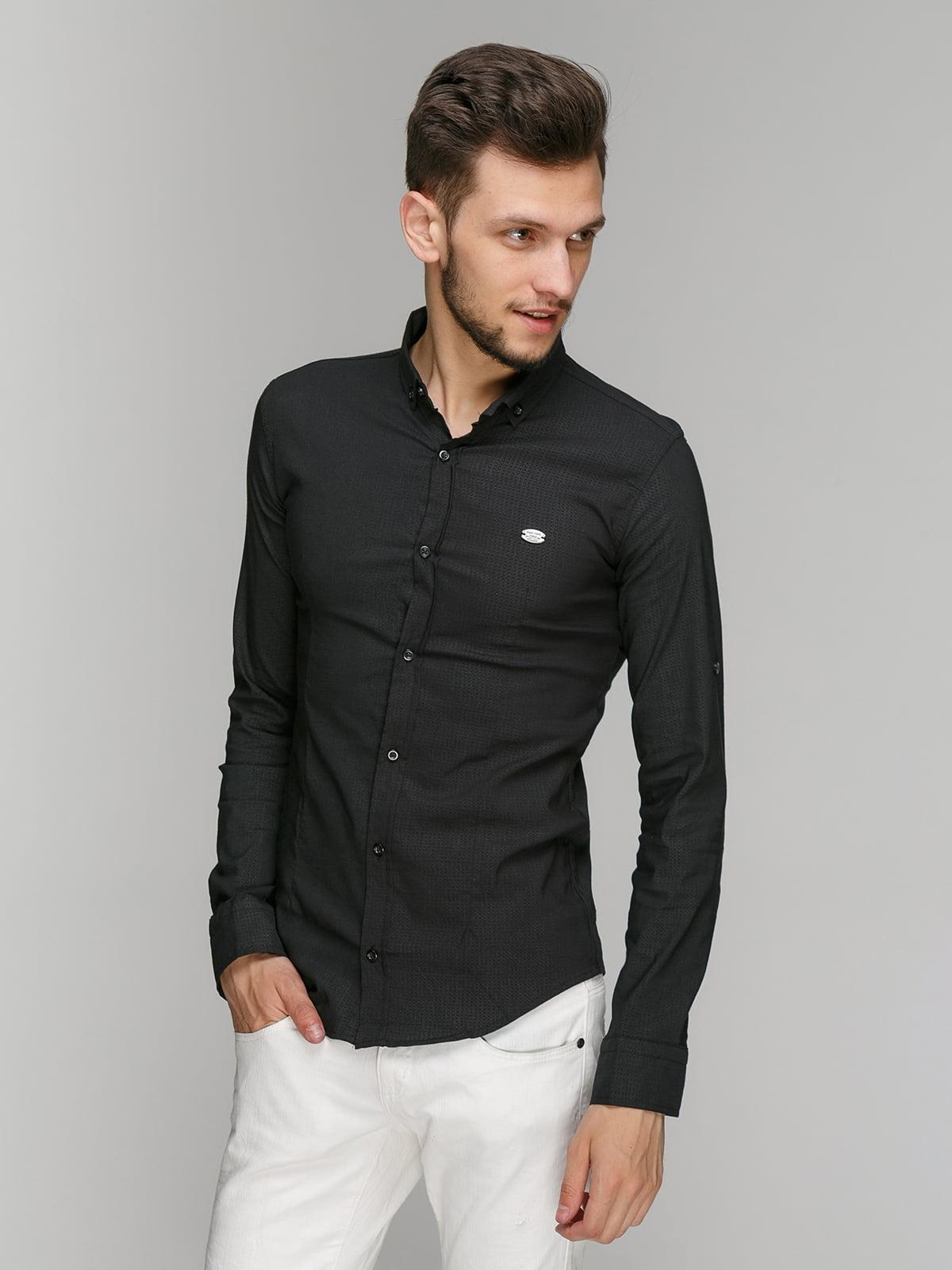 Рубашка черная | 5086482
