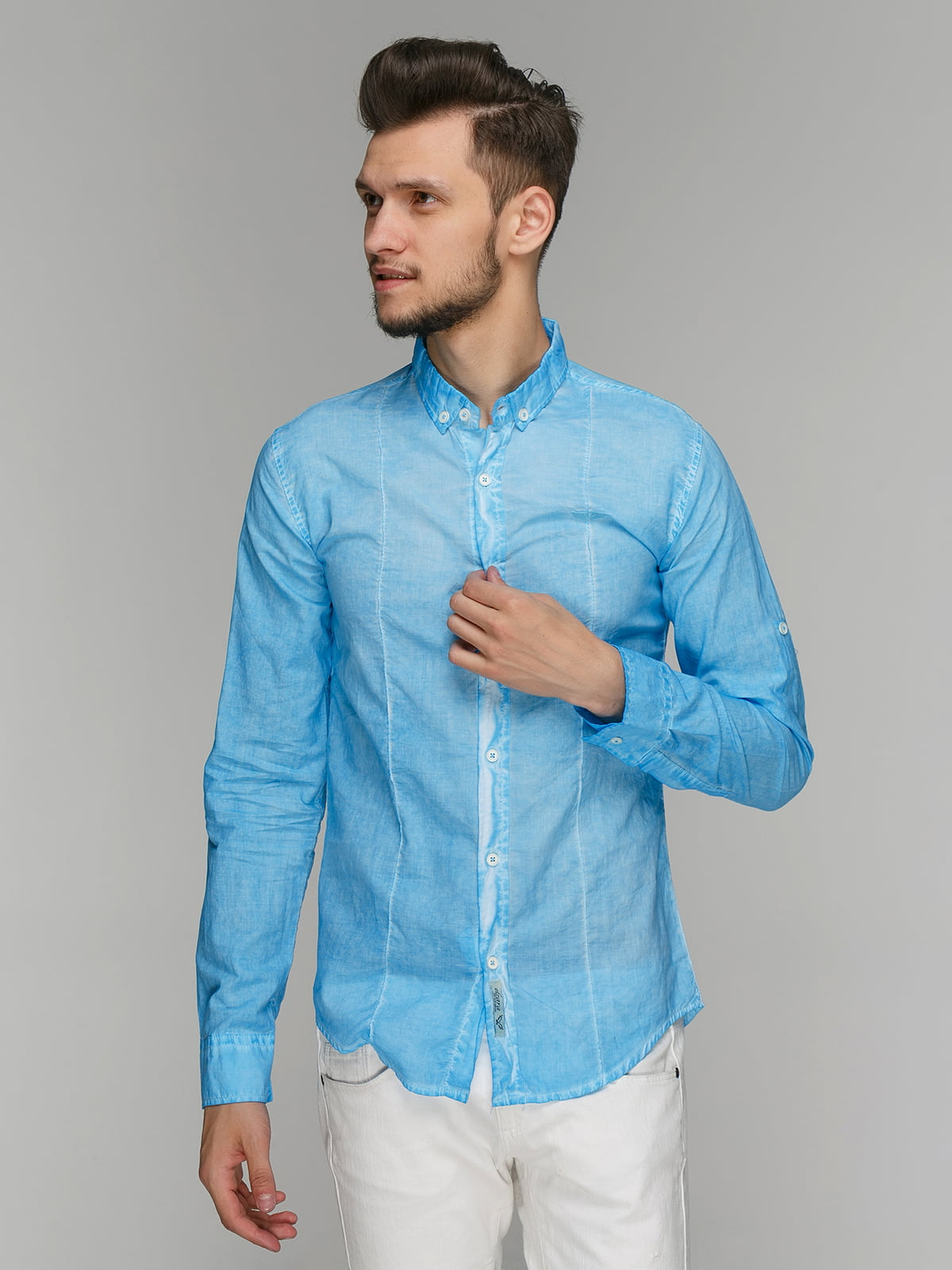 Сорочка блакитна | 5086391