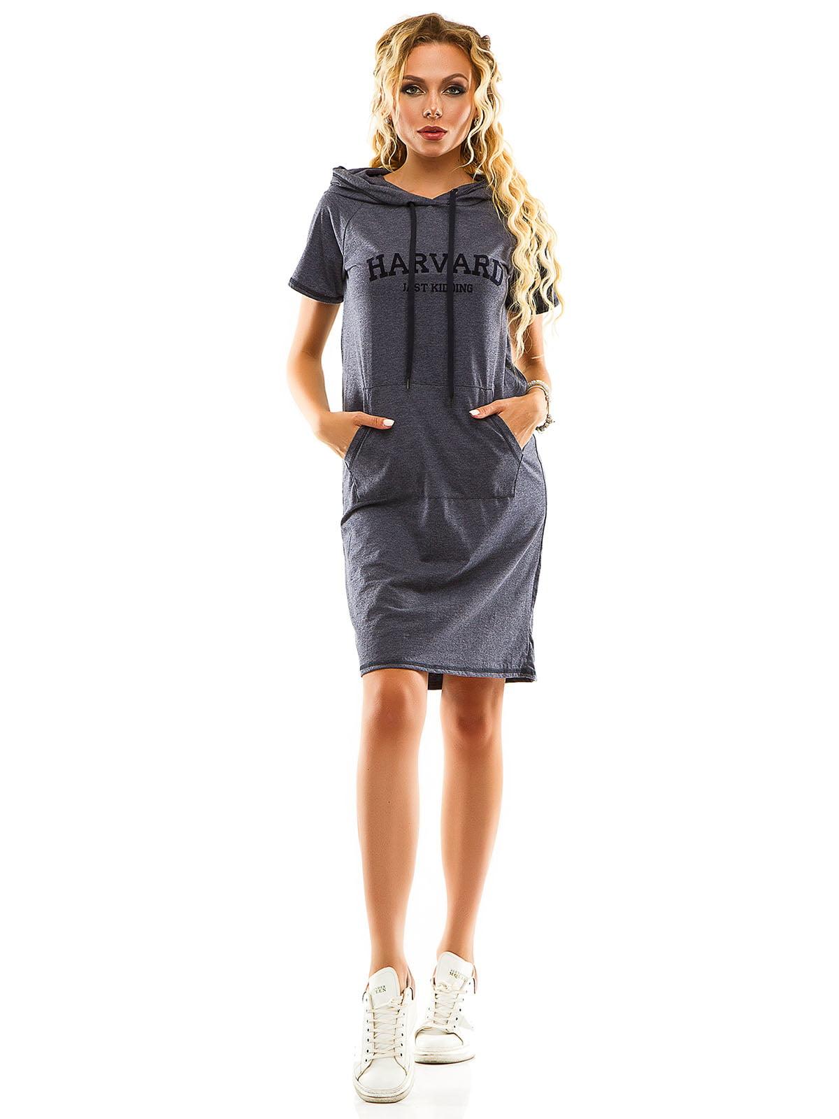Сукня джинсового кольору | 5114009