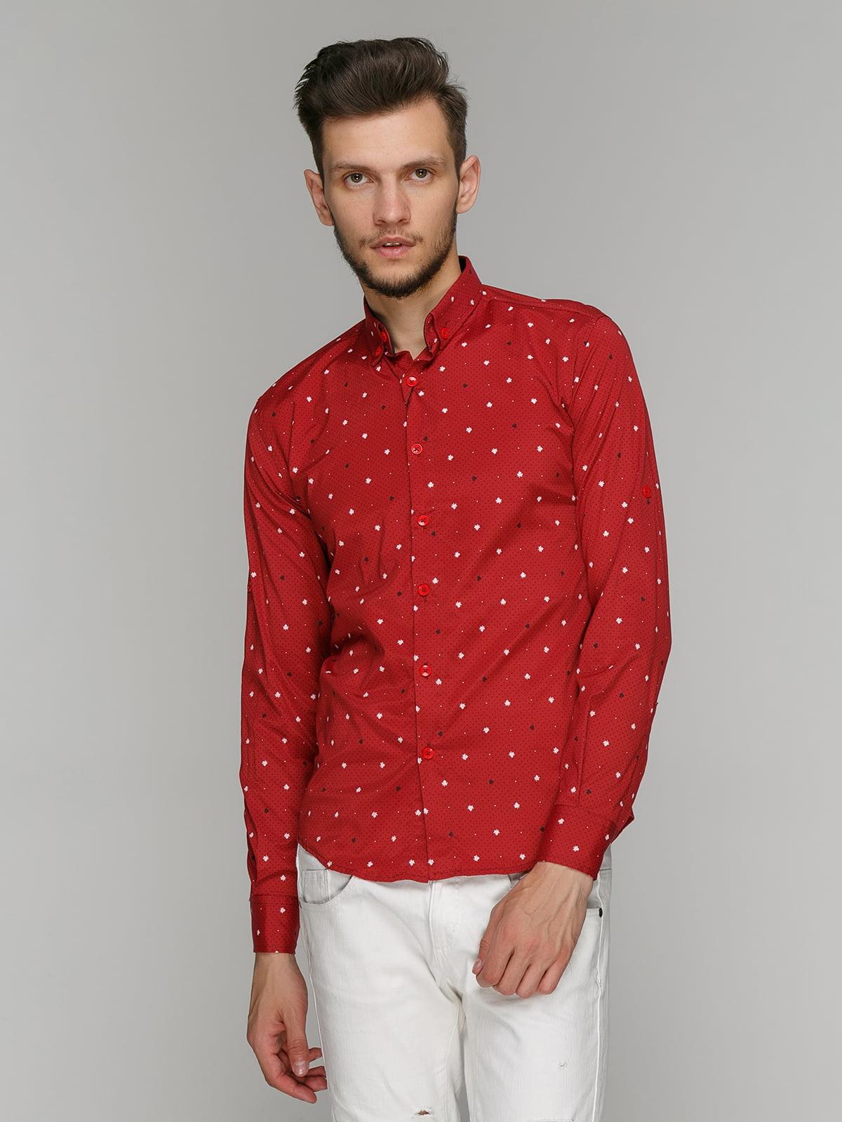 Рубашка красная   5086437