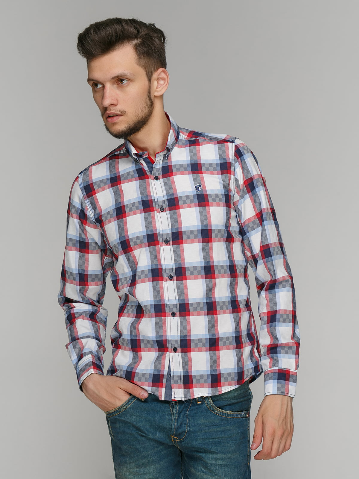 Рубашка в клетку   5086419