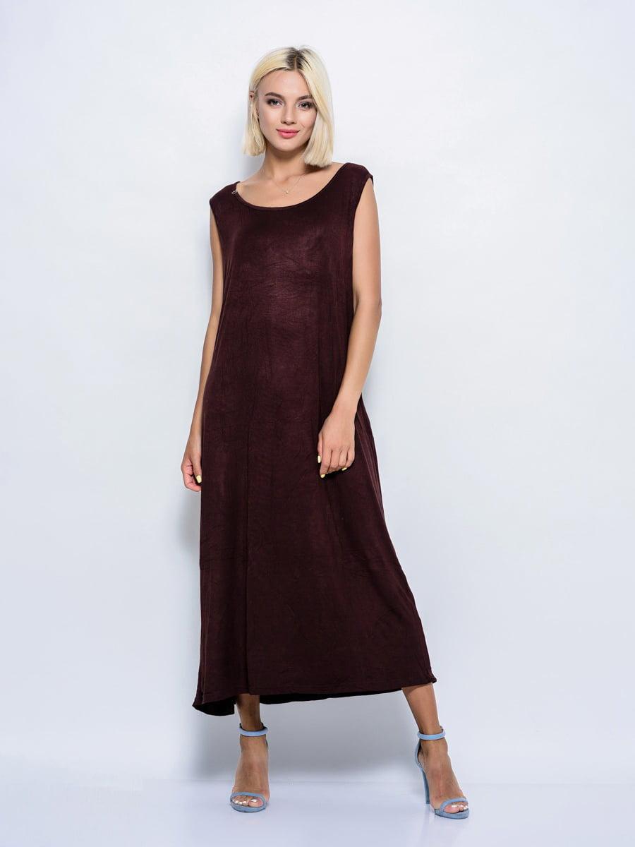 Платье коричневое | 5099974
