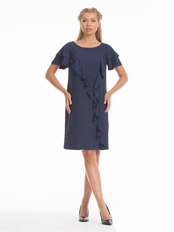 Платье синее | 5109851