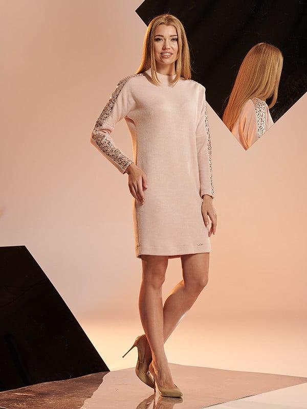 Сукня персикового кольору | 5109862