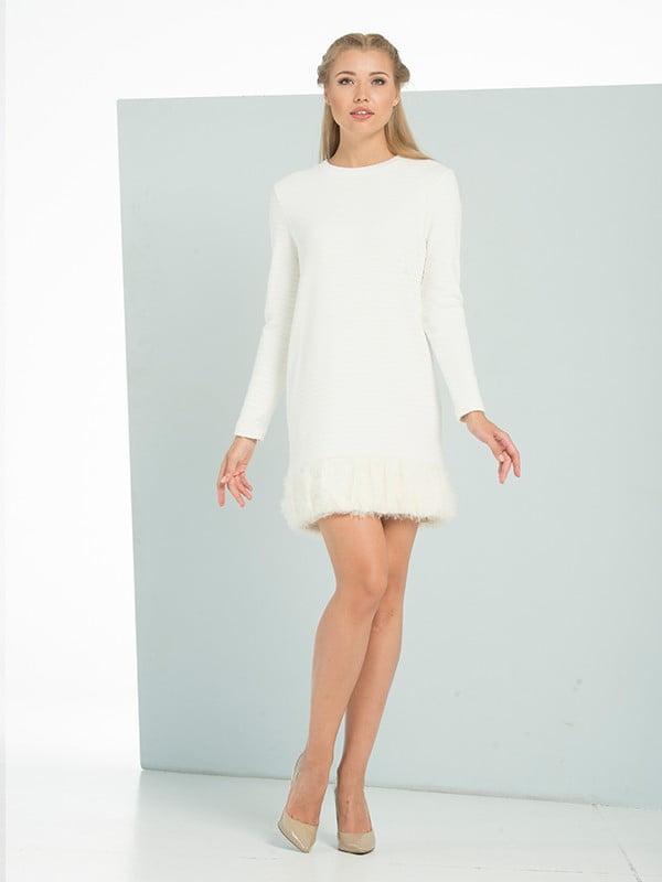 Платье молочного цвета   5109866