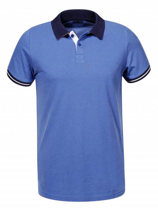 Футболка-поло синя | 5113921