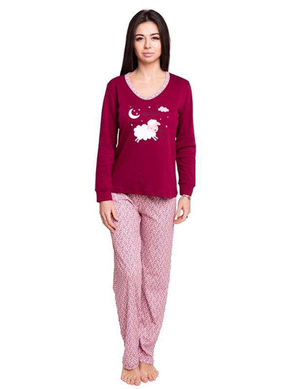 Піжама: джемпер та штани | 4781114