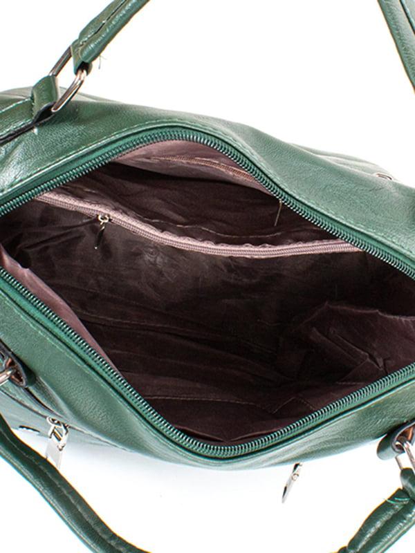 Сумка темно-зеленая | 5114655 | фото 5