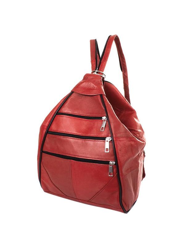Рюкзак бордовий | 5114802