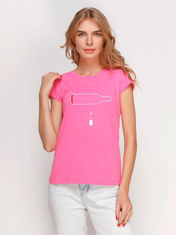 Футболка розовая | 5115185