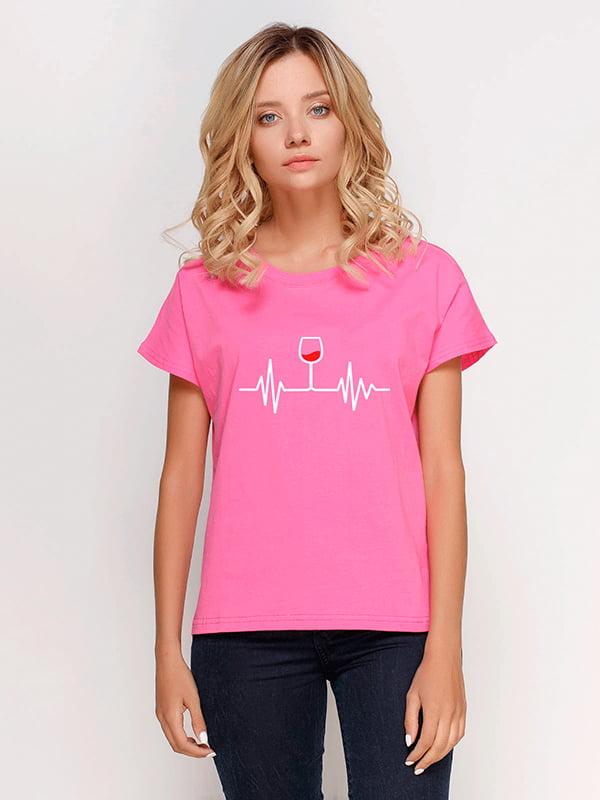 Футболка рожева | 5115199