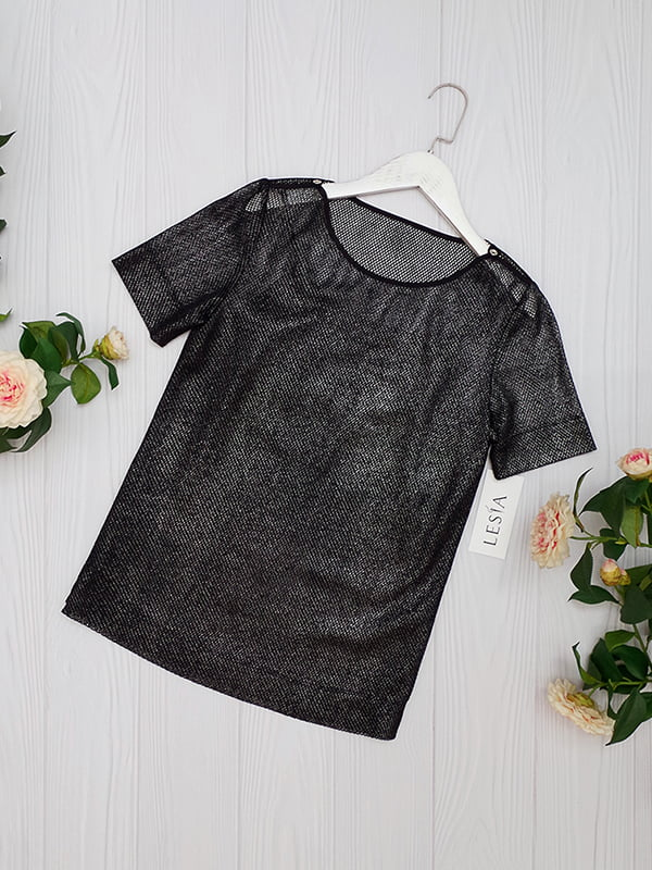 Блуза черная   5109681