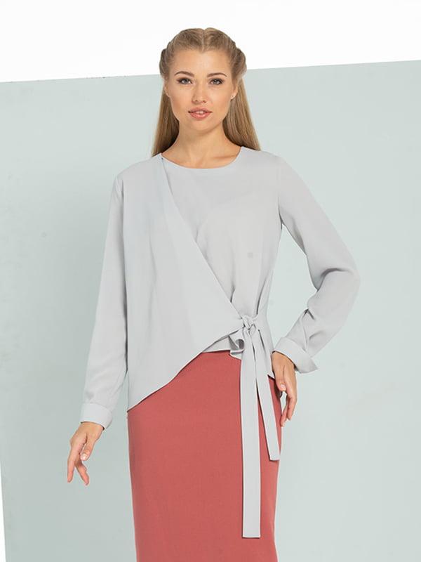 Блуза сіра | 5109704