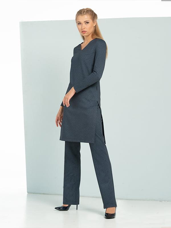 Костюм: блуза-туника и брюки | 5109750