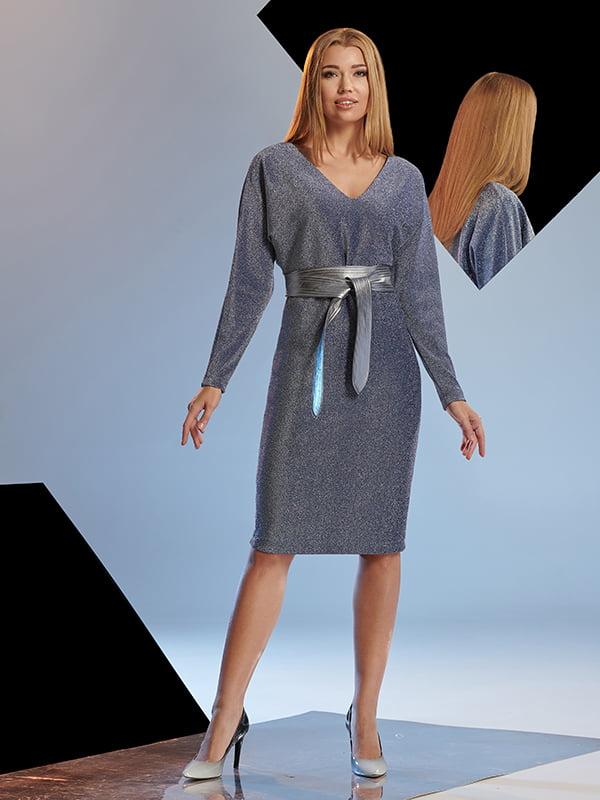 Платье синее   5109811