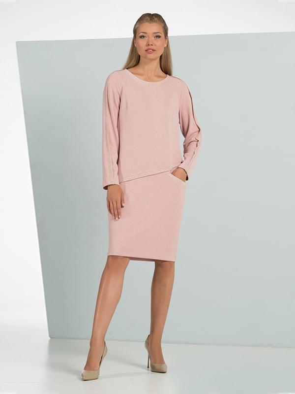 Платье розовое | 5109819