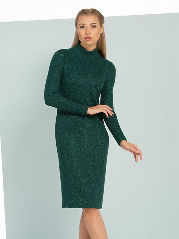 Платье изумрудного цвета   5109854
