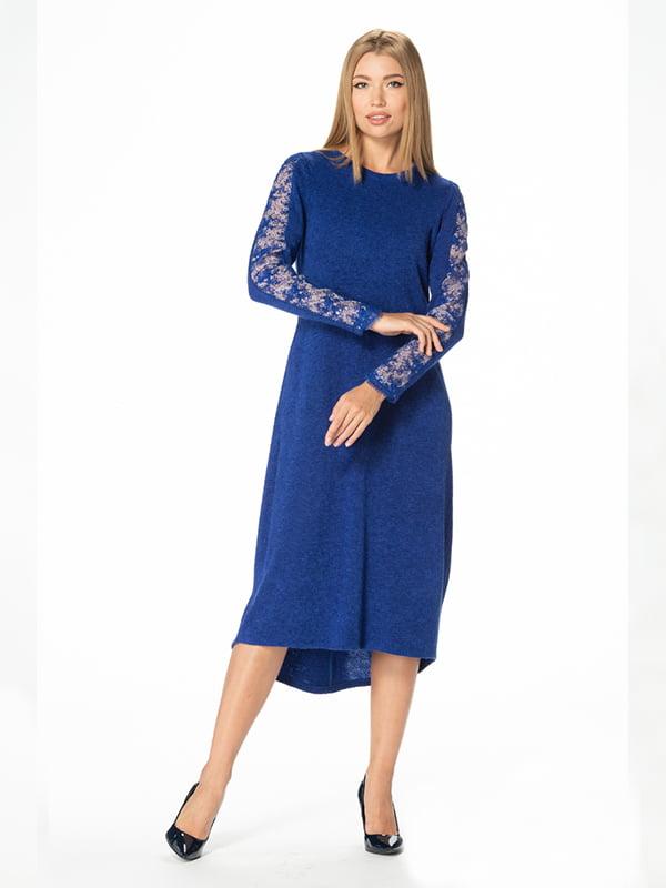Платье цвета электрик | 5109855