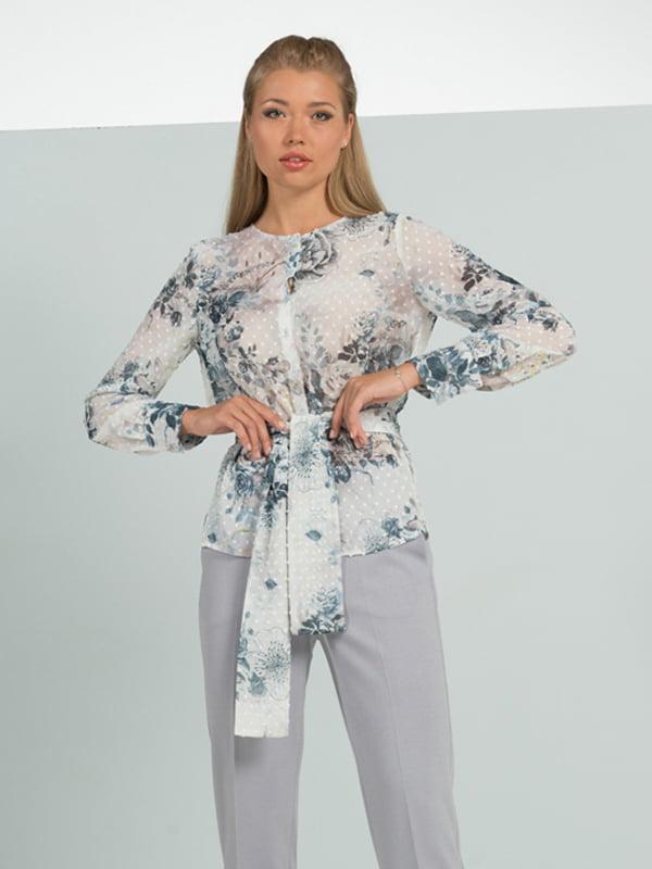Блуза в цветочный принт | 5114055