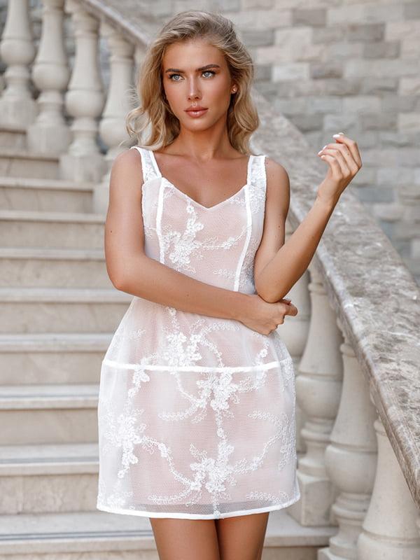 Платье белое   5100588