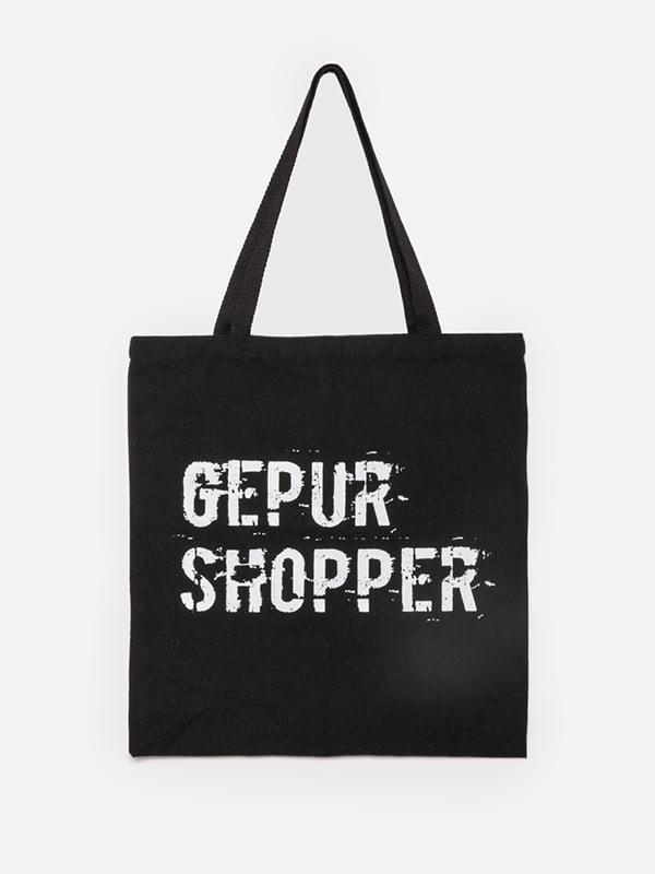 Сумка-шоппер черная | 5100618