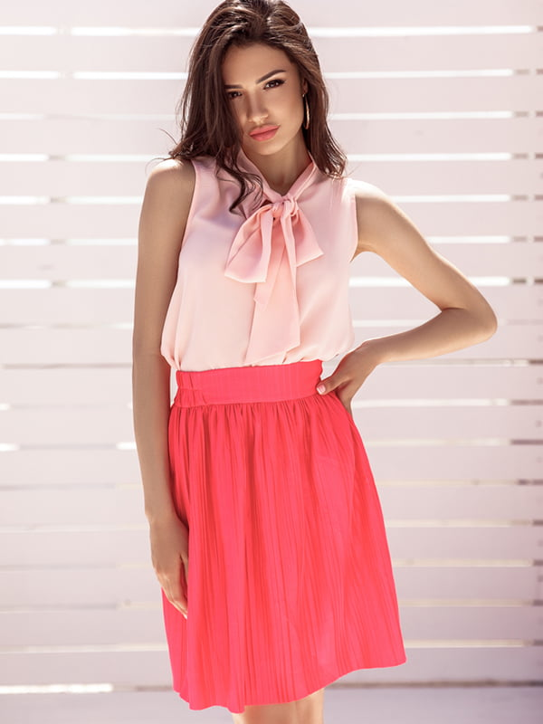 Юбка розовая | 5107721
