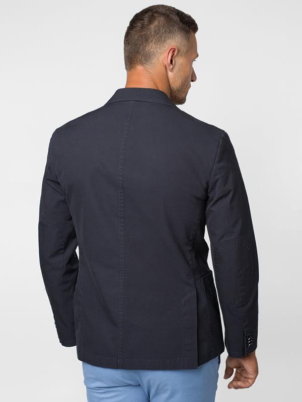 Пиджак темно-синий | 5116702 | фото 3