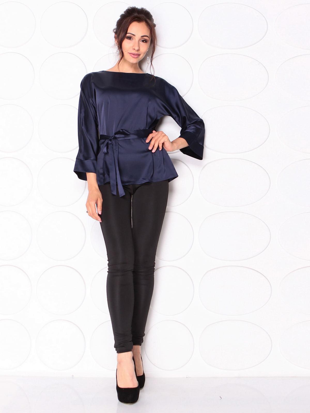 Блуза темно-синього кольору   5117082